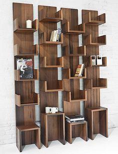 Leaning Shelves by Deger Cengiz