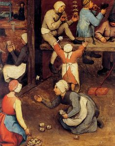 [clio team] 1560 bruegel l ancien jeux d enfants detail osselets poupees et divers sets of children detail ossicles headstocks and various.jpg (2508×3179)