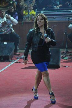 Jenni Rivera en el palenque