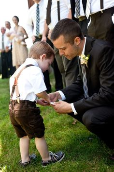 @melissa jackson - what do you think of a version of this for Indy?  Adorable ring bearer outfit.