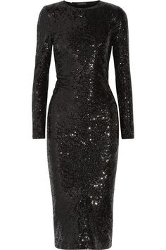 Donna Karan New York | Sequined stretch-woven dress | NET-A-PORTER.COM