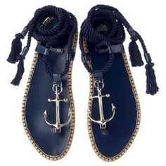 Dior anchor sandals - want want want! ⚓️