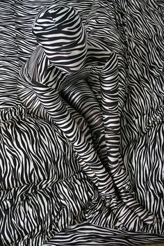 This picture is a good example of pattern because you know the zebra stripes keep going throughout the picture. Pattern is when you can predict the shapes or colors. Op Art, Arte Linear, White Art, Black And White, Illusion Art, Illustration, Art Abstrait, Pics Art, Art Plastique