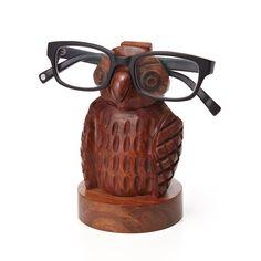 Owl Eyeglass Holder. $24.