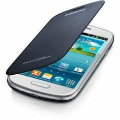 Samsung i8190 Galaxy S3 Mini Flip Cover ( Siyah )