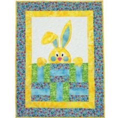 Quilt Bunny Easter