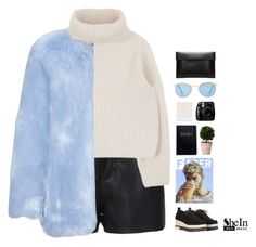 """""""// shein . 5 //"""" by theonlynewgirl ❤ liked on Polyvore featuring Enchanté, Quay and Sheinside"""