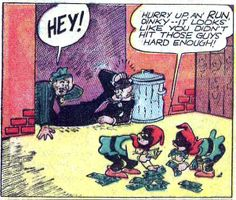 Sisty and Dinky suit up as the Cyclone Kids! From All-American #24 (Nov. 1940); art by Sheldon Mayer.