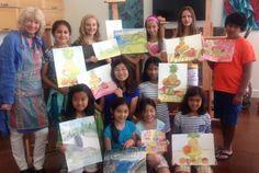 Landscape Plein Air Painting Palo Alto, California  #Kids #Events
