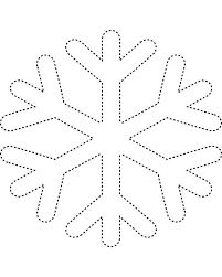 Image result for templates for felt snowflakes
