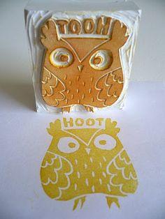 Owl stamp, DIY?