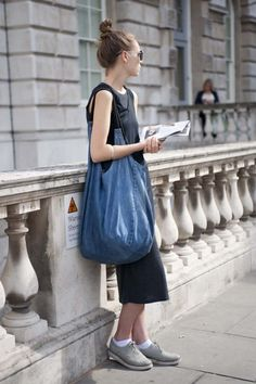 Street style: the models at London Fashion Week S/S 2013 gallery - Vogue Australia