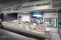 pescadería - pescaderías - diseño de pescadería - poissonnerie - pescheria - fishop - fish market - diseño de tiendas - interiorisme comercial - store design - paradas de mercado