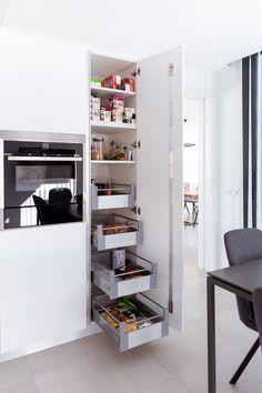 Kitchen Cabinet Interior, Kitchen Room Design, Diy Kitchen Storage, Modern Kitchen Design, Dining Room Design, Interior Design Kitchen, Kitchen Furniture, Kitchen Decor, Furniture Design