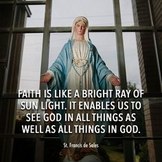 is what enables us to see God. Trust In Jesus, Strong Faith, Blessed Mother Mary, Saint Quotes, Roman Catholic, Christianity, Favorite Quotes, Saints, Poems