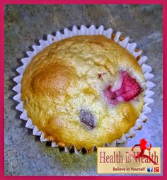 Coconut Strawberry Blueberry Muffins Recipe on Yummly