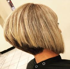 Classic Hairstyles, Trendy Hairstyles, Angled Bobs, Stacked Bobs, Inverted Bob Hairstyles, Bob Haircuts, Medium Hair Styles, Short Hair Styles, Shaved Nape