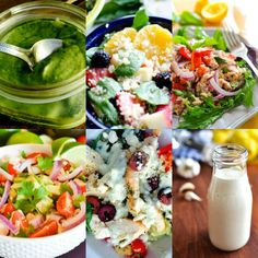 These 21 Day Fix salad recipes are far from boring - you'll love all the flavors, energizing ingredients, and homemade salad dressings in this post!