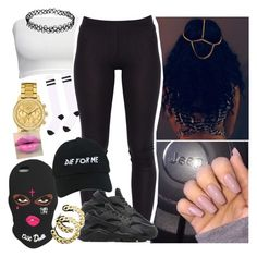 """""""💣💣💣"""" by saucinonyou999 ❤ liked on Polyvore featuring Lacoste, NIKE, NASASEASONS and Topshop"""
