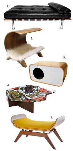 Pet beds on Etsy! So cute!!! http://www.etsy.com/blog/en/2012/get-the-look-pet-interiors/?ref=fp_blog_image #pet #bed