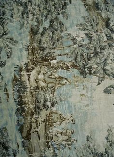 Decorative Pillow Cover In Bosprus Ocean 128 Distressed