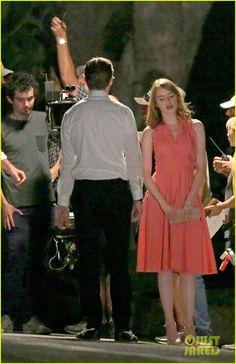 ebec078693 Emma Stone Wraps  La La Land  Before Hammer Museum Gala 2015 Lala Land  Dresses
