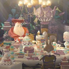 이상한 나라 앨리스를 모티브로 한 광고 애니메이션.  캐릭터와 컬러가 아름답다.  앤딩까지 제대로 만들었다.  http://plenty.tv  https://vimeo.com/140413690