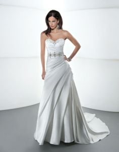 Enter to win this wedding gown from Demetrios! Click the image for details! #giveaways