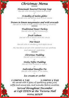 1000 images about christmas menus on pinterest christmas menus christmas menu ideas and - Christmas menu pinterest ...