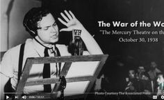 Orson Welles 1938 War Of The Worlds Martian...