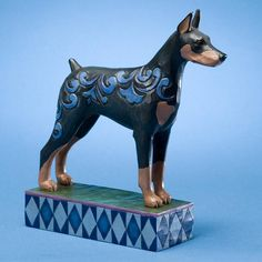 -Heartwood Creek Dog Figurines Jim Shore  Doberman