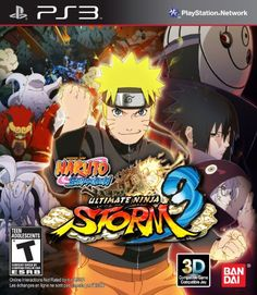 Naruto Shippuden Ultimate Storm 3 Full Burst  Playstation 3 *** Want additional info? Click on the image. Note:It is Affiliate Link to Amazon.