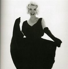 vintage everyday: Black and White Portraitures of Marilyn by Bert Stern