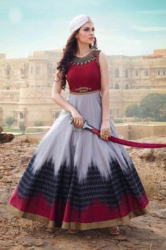 Multicolor Digital Print Long Gown for Party Buy Gowns Online, Party Wear Gowns Online, Indian Dresses, Indian Outfits, Party Kleidung, Indian Clothes Online, Indian Party Wear, Indian Wear, Printed Gowns