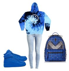"""""""Who ready for school"""" by neca-xoxo ❤ liked on Polyvore featuring Object Collectors Item, NIKE and MCM"""
