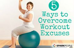 Busting Excuses to Avoid Exercise, No Matter Your Size | via @SparkPeople #motivation #fitness #workout #weight