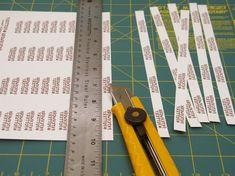 Passo a passo de etiqueta personalizada, para tornar mais profissional seu atelier!
