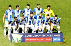 Equipos de fútbol: LEGANÉS contra Espanyol de Barcelona 16/04/2017