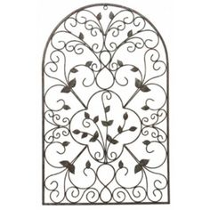 The Fleur De Lis Living Spanish Wall Decor Makes For A Fantastic Addition Your Home Decor. Its Minimal Build And Structural Design Give It A Contemporary Feel, But Its Overall Shape Keeps It Within The Boundaries Of Traditional Styling. Its Visual Appeal Metal Wall Decor, Metal Wall Art, Wood Wall, Wall Décor, Patio Fence, Patio Wall, Garden Wall Art, Spanish Style Homes, Steel Wall