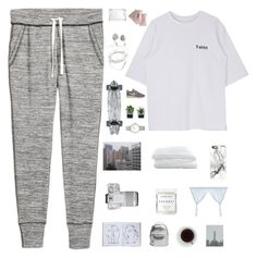 """""""L A C U N A"""" by dreyanaxo ❤ liked on Polyvore featuring NIKE, Threshold, CLUSE, Clinique, Crate and Barrel, Casetify, Eos, Herbivore, Cosabella and Assouline Publishing"""