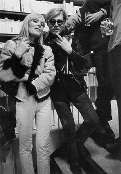 Nico and Andy Warhol