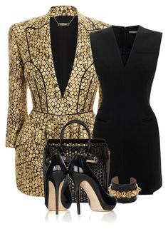 """Going in Circles"" by flowerchild805 ❤ liked on Polyvore featuring Alexander McQueen"
