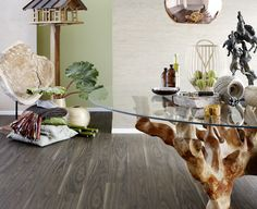 Inspiration with a Walnut decor from Pergo Vinyl Planks & Tiles