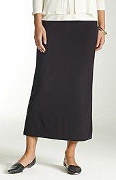Basics: Wearever Smooth-Fit long skirt