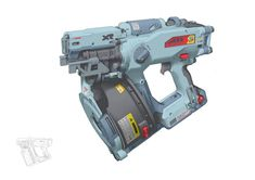 Sci Fi Weapons, Weapon Concept Art, Fantasy Weapons, Weapons Guns, Rpg Cyberpunk, Future Weapons, Cool Guns, Firearms, Nerf