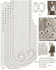 Филейное вязание | Записи в рубрике Филейное вязание | )))) : LiveInternet…