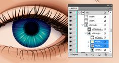 In today's tutorial I'm going to show you how to create a detailed eye from a stock image in Adobe Illustrator. We'll work from some basic skin shading around the eye, to eyelashes, then a detailed iris and even eyebrows in this vector workflow. | Difficulty: Intermediate; Length: Medium; Tags: Illustration, Vector, Adobe Illustrator