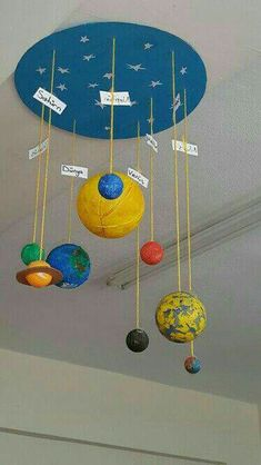 DIY solar system crafts, activities and decorations encourage your kids to delve into the depths of the solar system using the vast-varied ideas and inspirations on solar system project ideas given below. Kid Science, Science Experiments, Science Education, Science Centers, Science Room, Education System, Kids Education, Physical Education, Space Activities