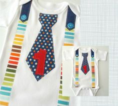 Hey, I found this really awesome Etsy listing at https://www.etsy.com/listing/225167339/baby-boy-1st-birthday-fabric-tie-onesie