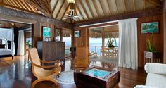 Conrad Bora Bora Nui offers 5 star luxury rooms and suites. Enjoy your stay at this upscale Bora Bora hotel. Bora Bora Bungalow, Bungalow Resorts, Resort Villa, Resort Spa, Lake Resort, Bora Bora Hotels, Overwater Bungalows, Luxury Rooms, Luxury Hotels